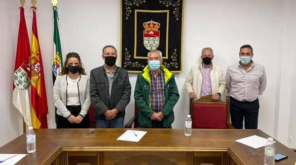 Los alcaldes de la Jara retoman sus reuniones presenciales