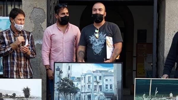 El artista malagueño Cristobal León gana el I Premio de Pintura Rápida de Navalmoral